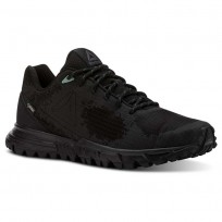 Reebok Sawcut Walking Shoes Womens Black/Ash Grey/Industrial Green CN5019