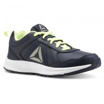Reebok ALMOTIO 4.0 Running Shoes Boys Collegiate Navy/Electric Flash/Pewter CN4216