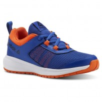 Reebok Road Supreme Running Shoes Boys Collegiate Royal/Bright Lava/White/Blk CN4195
