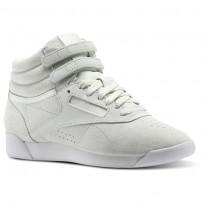 Reebok Freestyle HI Shoes Womens Blue/Opal/White CN0604
