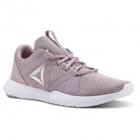 Reebok Reago Training Shoes Womens Infused Lilac/Lavendar Luck/White CN5191