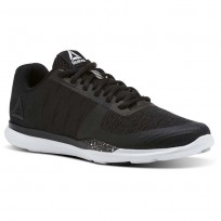 Reebok Sprint TR Training Shoes Womens Black/White/Skull Grey CN1232