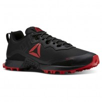 Reebok All Terrain Running Shoes Mens Black/Primal Red/Ash Grey CN5243