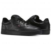 Reebok Club C 85 Shoes Mens Intense Black/Charcoal AR0454