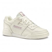 Reebok Workout Lo Shoes Womens We-Trendx-Chalk/Infused Lilac DV5588