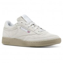 Reebok Club C 85 Shoes Mens Nm-Skull Grey/Super Neutral/White CN5782