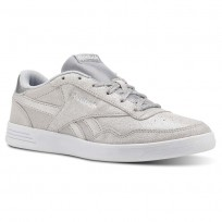 Reebok Royal Techque Shoes Womens Silver Metallic/White/Lgh Solid Grey CN4288