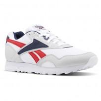 Reebok Rapide MU Shoes Mens Skull Grey/White/Collegiate Navy/Primal Red CN5906