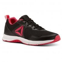 Reebok Express Runner 2.0 Running Shoes Womens Black/Twisted Pink/White CN3003