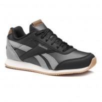 Reebok Royal Classic Jogger Shoes Boys Outdoor/Black/Graphite/Cream Wht/Gum CN4819
