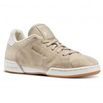 Reebok NPC II Shoes Womens Beige/Oatmeal/Chalk/Paperwhite BD1587