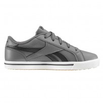Reebok Royal Comp Shoes Boys Ash Grey/Black/Gum CN4849