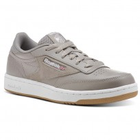 Reebok Club C 85 Shoes Kids Powder Grey/White/Washed Blue CN1200
