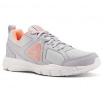 Reebok 3D FUSION TR Training Shoes Womens Cloud Grey/Digital Pink/White CN5260