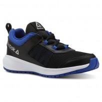 Reebok Road Supreme Running Shoes Boys Black/Vital Blue/White CN4194