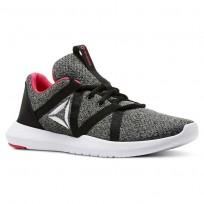 Reebok Reago Training Shoes Womens Black/Tin Grey/White/Twisted Pink CN5190