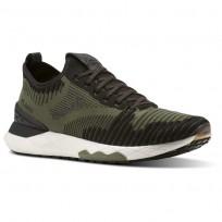 Reebok Floatride 6000 Lifestyle Shoes Mens Hunter Green/Black/Coal/White CN2231