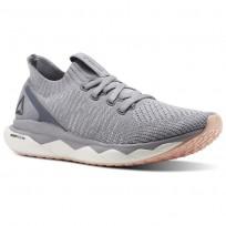 Reebok Floatride RS ULTK Lifestyle Shoes Womens Cloud Grey/Cool Shadow/Porcelain/Desert Dust CM8682