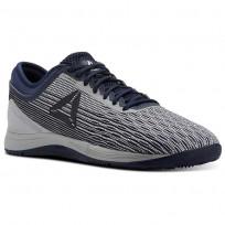 Reebok CrossFit Nano Shoes Mens Grey/White/Collegiate Navy/Stark Grey CN1037