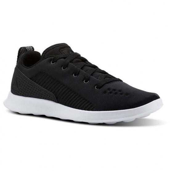 Reebok Evazure DMX LITE Walking Shoes Womens Black/White CN2305
