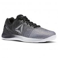 Reebok CrossFit Nano Training Shoes Womens Grey/Beige/White/Black/Silver Metallic BS8352