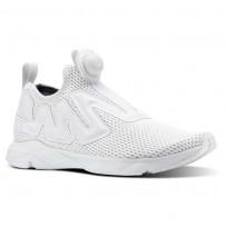 Reebok Pump Supreme Lifestyle Shoes Mens Reveal-Spirit White/Blue Slate CN4759